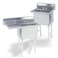 One Compartment Fabricated Sinks