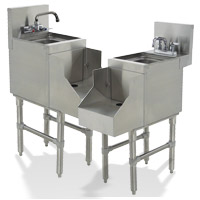 Prestige® Blender Stations with Recessed Sink