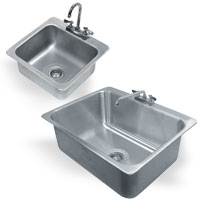 1 Compartment Drop-In Sink General Use