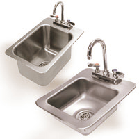 Drop-In Sinks for Hand Use