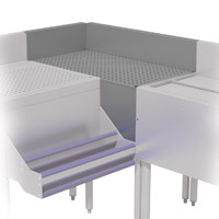 90 Degree Corner Drainboard Fillers