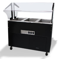 Sealed Hot Buffet Tables With Solid Base