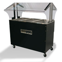 Hot Buffet Tables With Solid Base