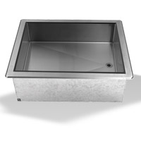 Gas Wet Bath Tables with Undershelf