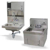 Soap & Towel Dispenser Hand Sinks