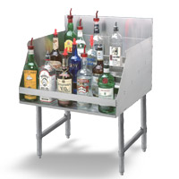 Basic Liquor Display Racks