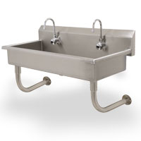 Multiwash Sink Electronic Operated