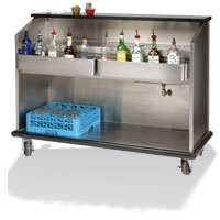 Heavy Duty Portable Bars with S/S Interior
