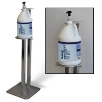 "36"" Sanitizer Stand"