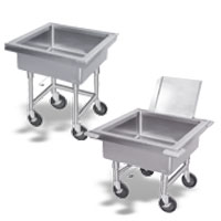 Mobile-Silver Soak Sinks