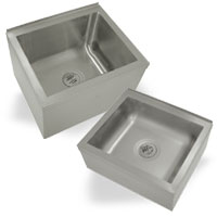 Mop sink Floor Units