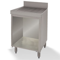 Basic Drainboard Cabinet With Open Base