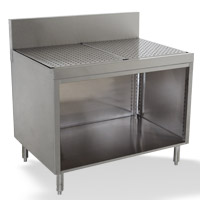 Prestige Drainboards With Open Base Cabinet