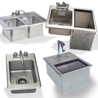 Underbar Drop-In Sinks