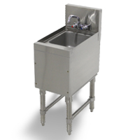 Prestige All Stainless Steel Underbar Hand Sinks