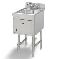 Basic Underbar Hand Sinks with Soap/Towel Dispensers