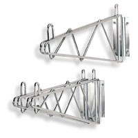 Wire Shelving Wall Brackets