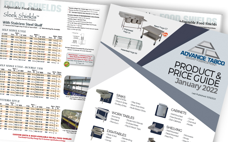 Advance Tabco Digital Catalog