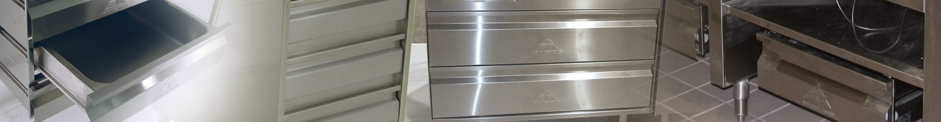 Advance Tabco Stainless Steel Drawers
