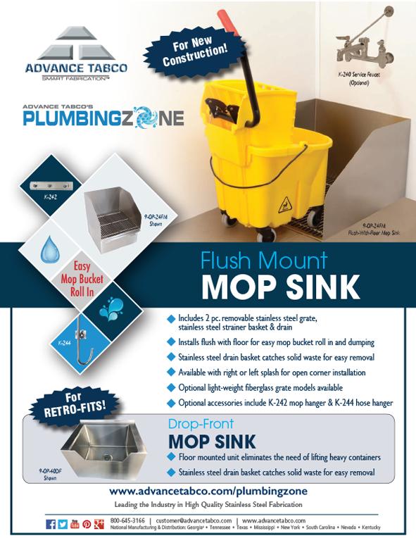 Flush Floor Mop Sink Flyer