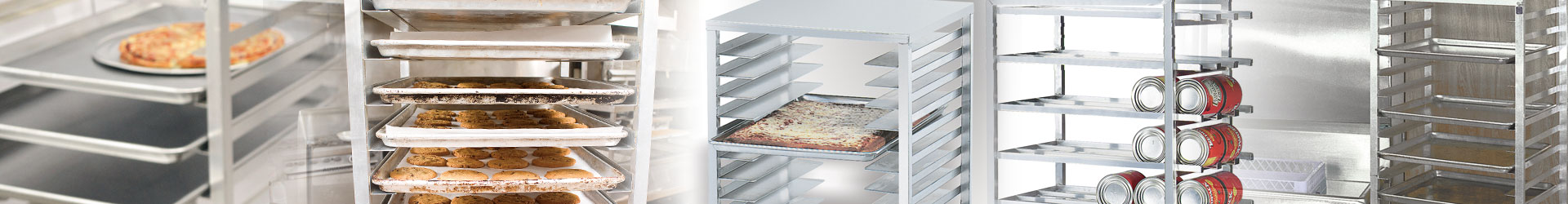 Advance Tabco Aluminum Pan Racks