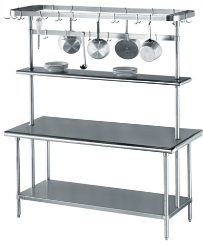 Advancetabcologo Heartland Boulevard Edgewood NY - 18 wide stainless steel work table