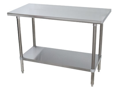 Advancetabcologo Heartland Boulevard Edgewood NY - Stainless steel table 18 x 24